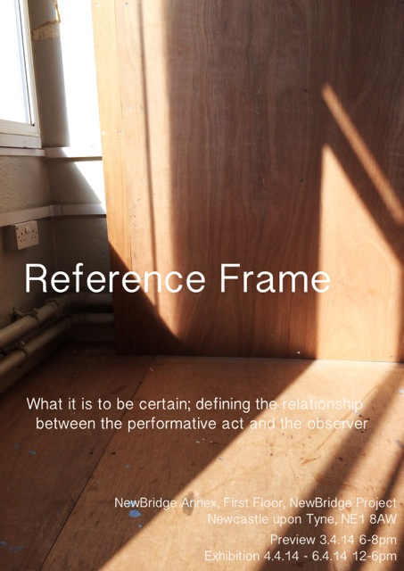 Reference Frame Poster