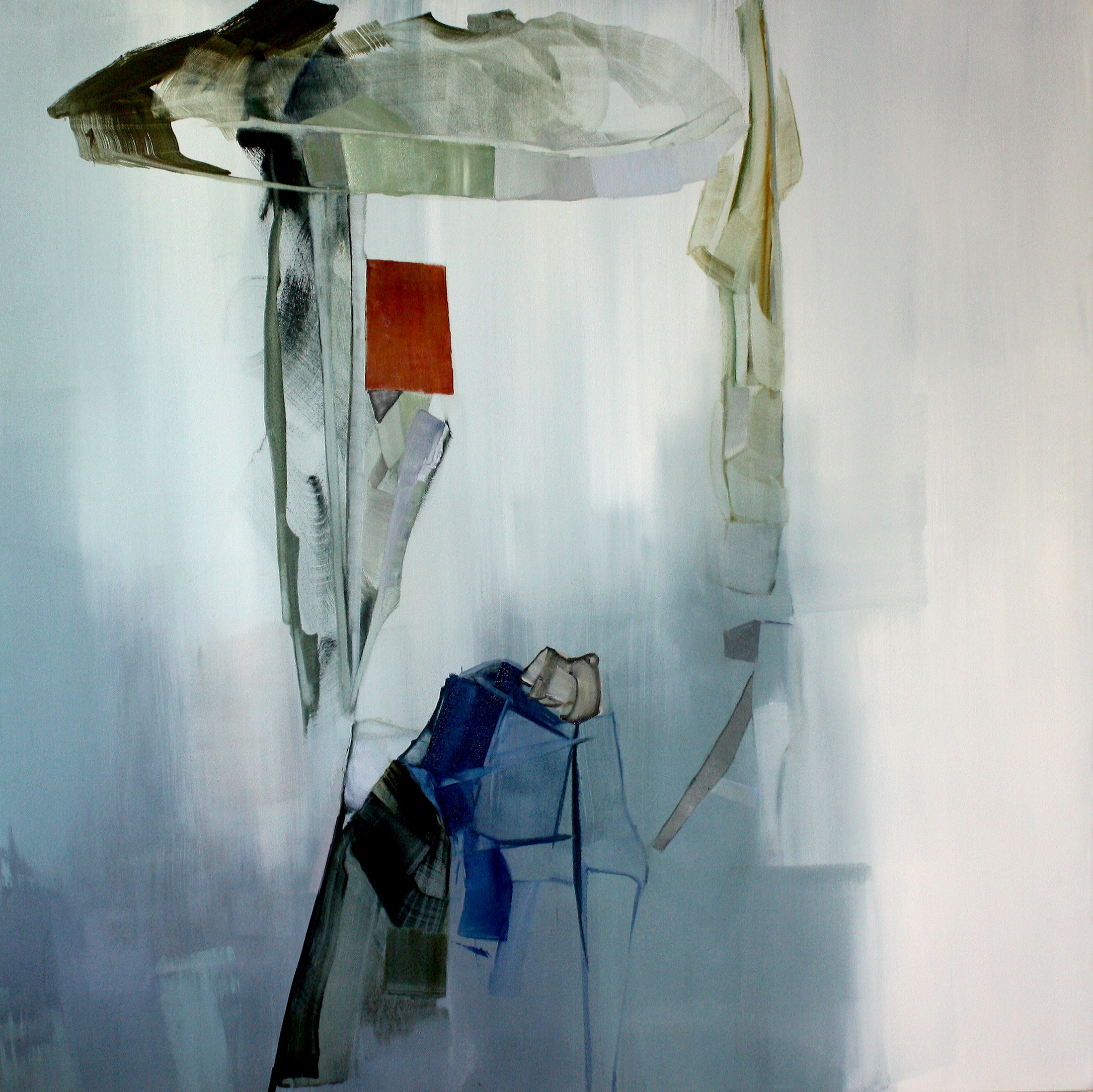 new work 2014,oil on canvas, 150cm x 150cm