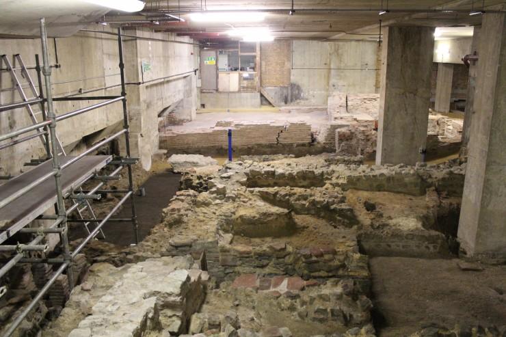 Billingsgate Roman Bathhouse, London
