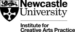 NU - Logo - Institute for Creative Arts Practice - Positive (Mono)