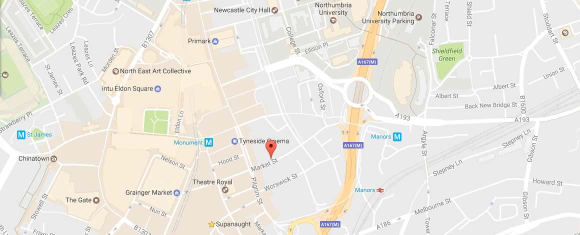 NewBridge Project Map