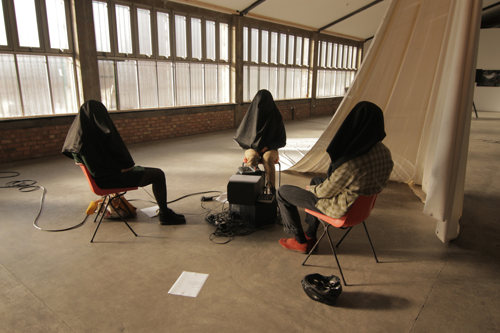 The ARKA Group participatory installation, SIB Gallery London by Ben Jeans Houghton