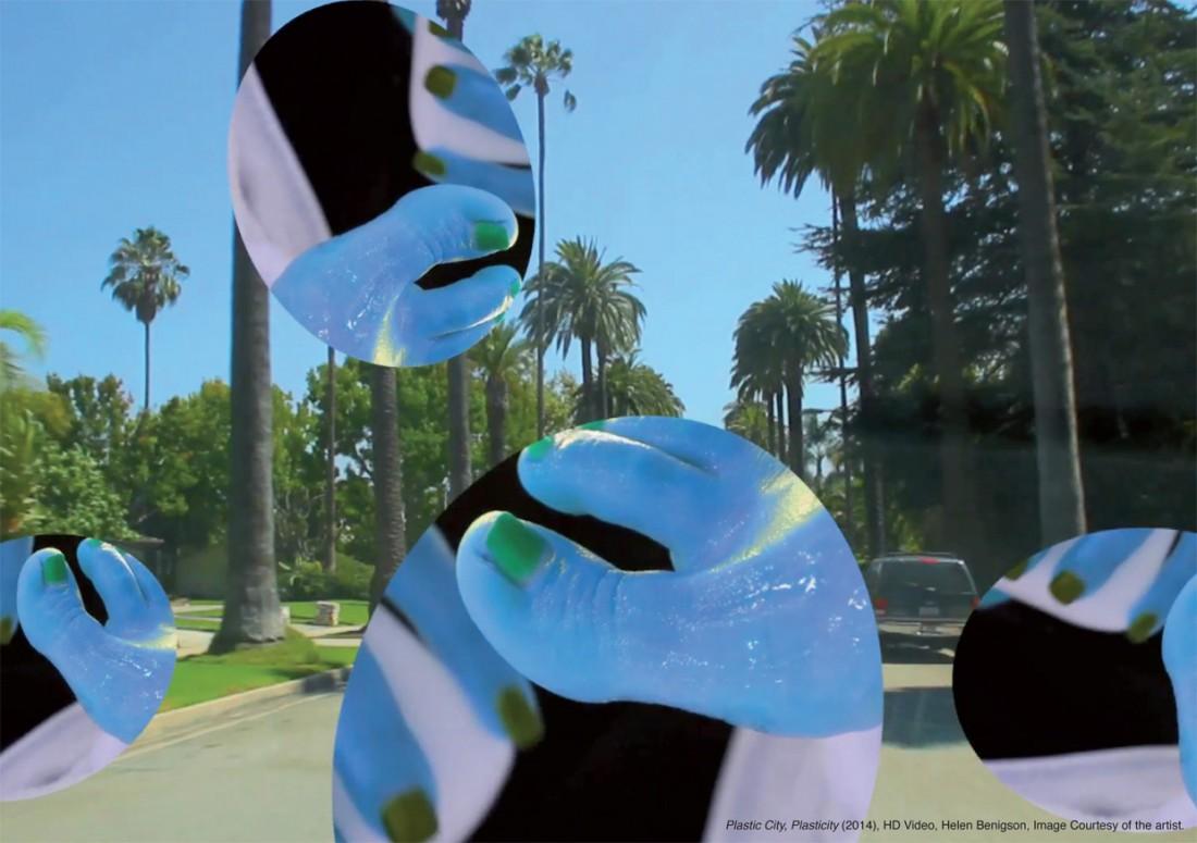 Plastic City, Plasticity (2014), HD video, Helen Benigson. Image courtesy of the artist.
