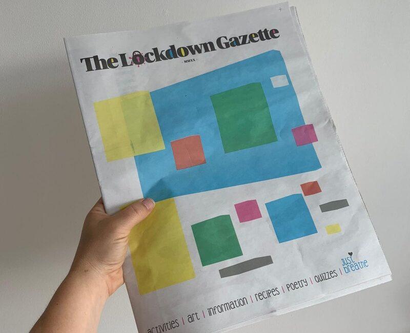 Shows what the lockdown gazette looks like