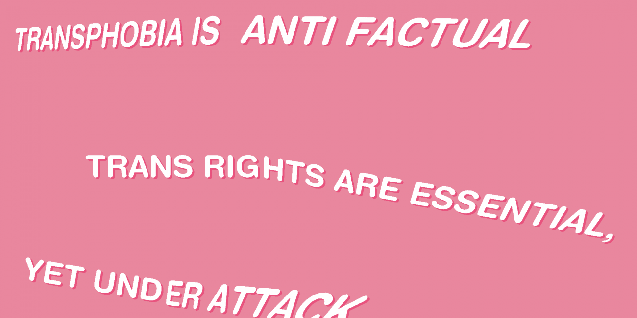White text on pink background. Text reads