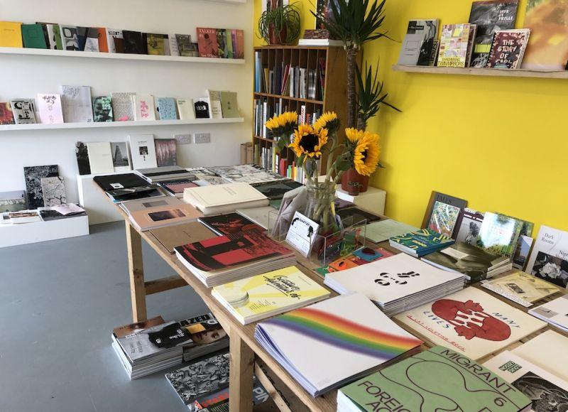 Interior shot of NewBridge Books