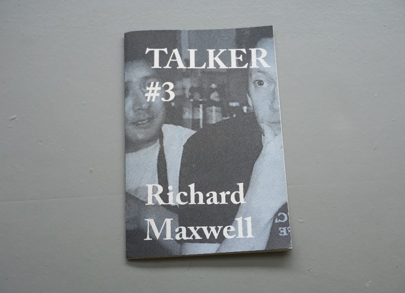 Talker #3: Richard Maxwell - Giles Bailey