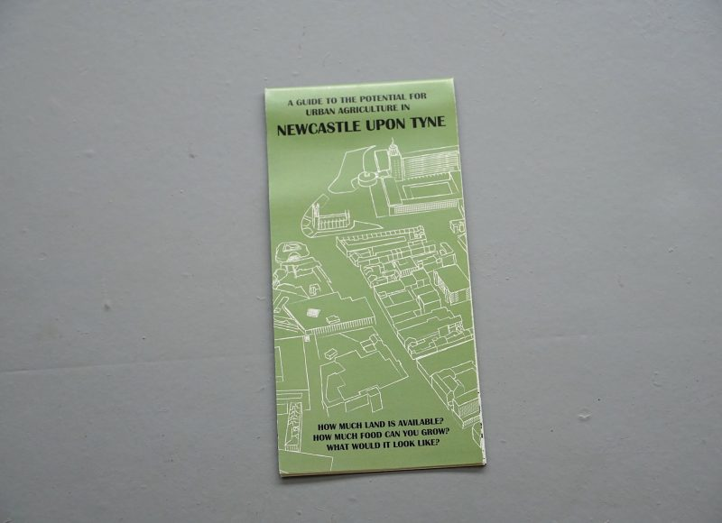 The Newcastle Edible Map - Mikey Tomkins