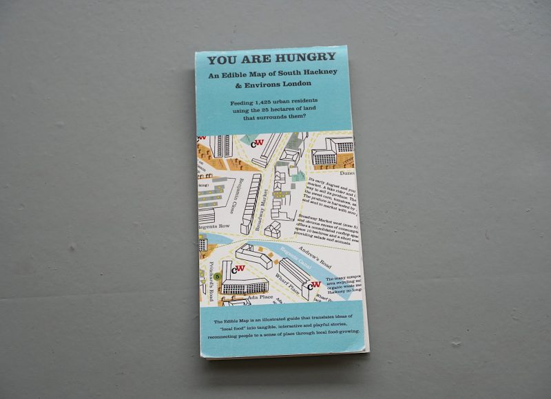 An Edible Map of South Hackney & Environs London - Mikey Tomkins