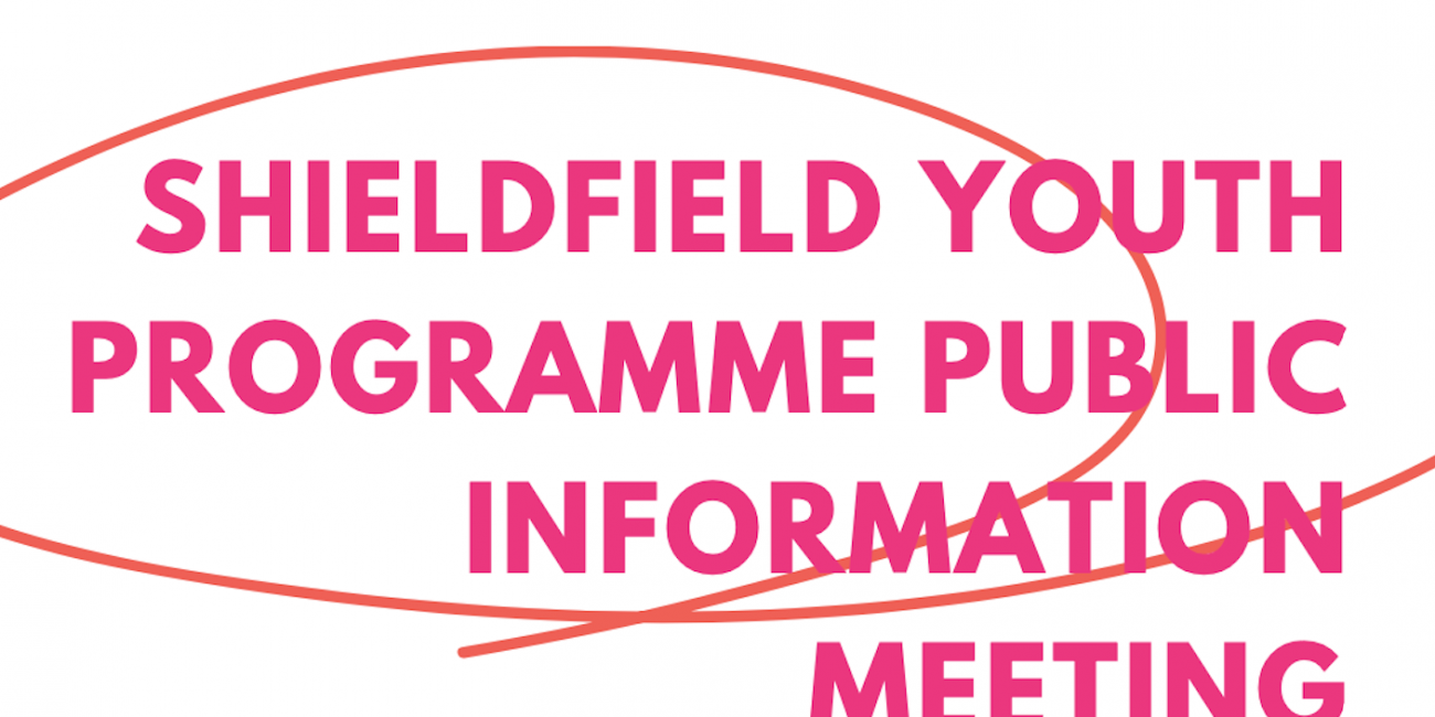 Poster for Shieldfield Youth Programme Meeting