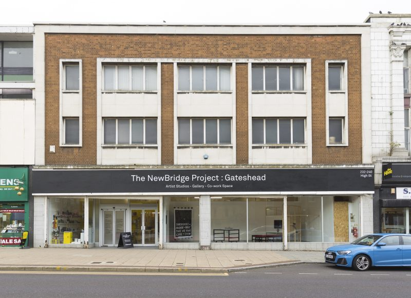 The front of The NewBridge Project : Gateshead