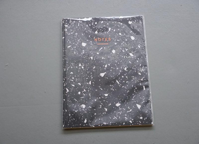 Monochrome Print Maxi Notebook