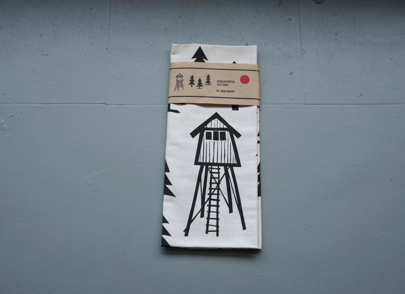 Screenprinted Tea Towel - Jodie Marks