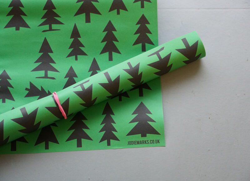 Tree Print Paper - Jodie Marks
