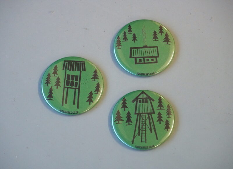 Green Forest Magnets - Jodie Marks